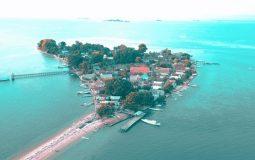 Pulau Laiya, Pulau Indah dengan Panorama Sunset yang Memesona di Pangkep